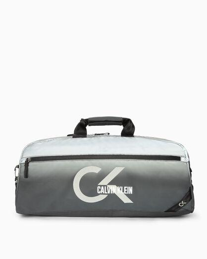 CALVIN KLEIN CLASSIC OMBRE REFLECTIVE DUFFLE BAG