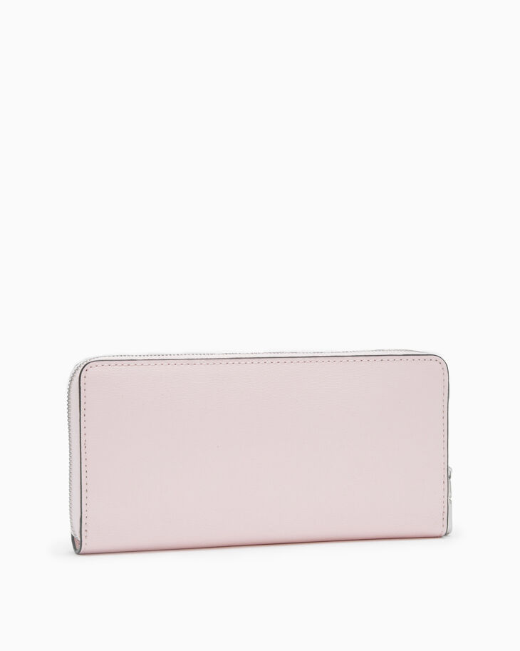 CALVIN KLEIN CKJ MONO HARDWARE LONG ZIP-AROUND WALLET