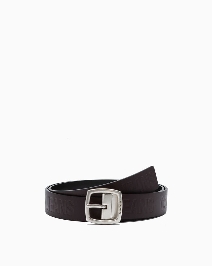 CALVIN KLEIN REVERSIBLE MAGNIFIED LOGO BELT 38MM