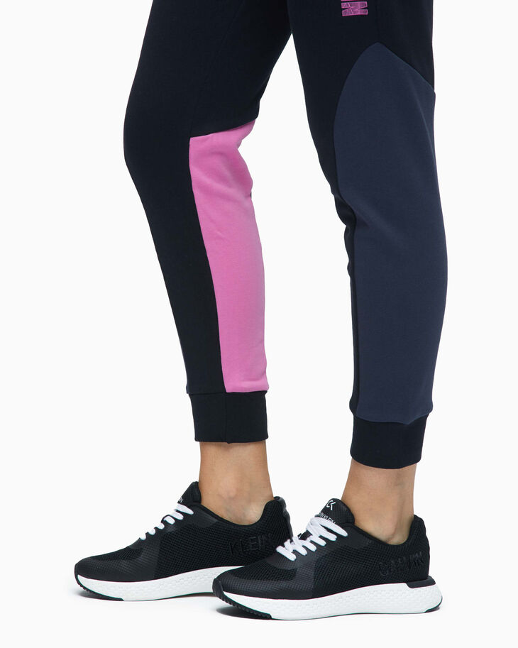 CALVIN KLEIN DIGITAL MOTION COLOR BLOCK SWEAT PANTS