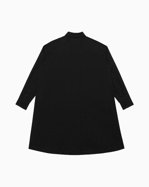 CALVIN KLEIN 오버사이즈 트윌 셔츠 드레스