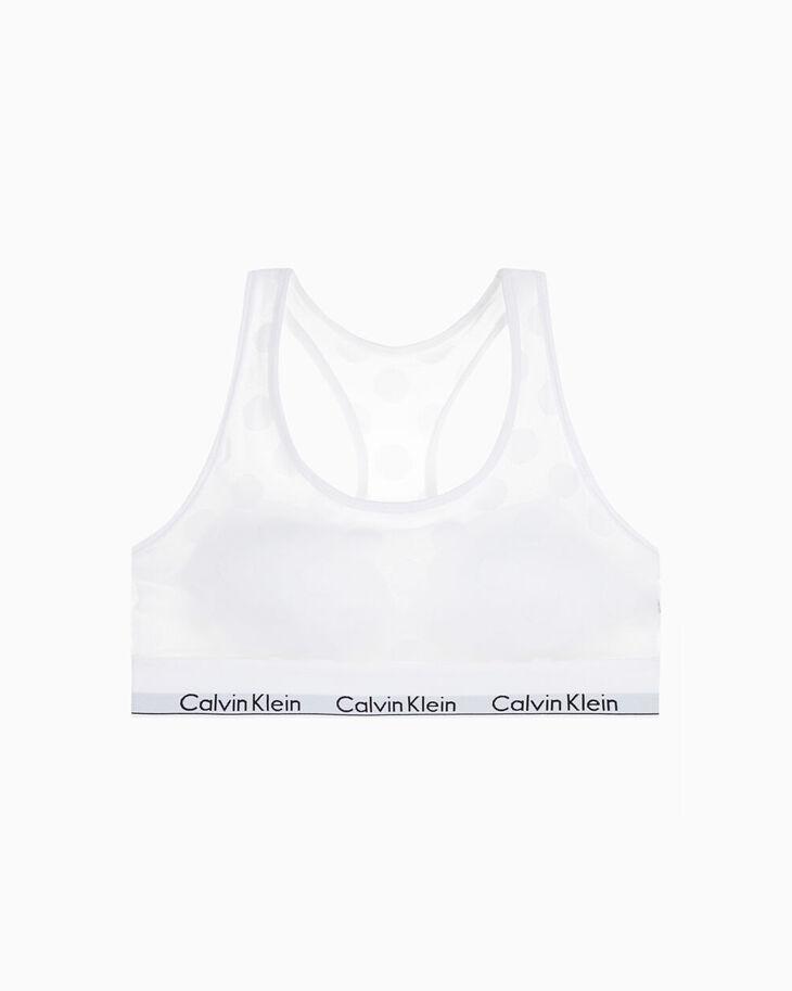 CALVIN KLEIN MODERN COTTON DOT ライトリーラインドブラレット