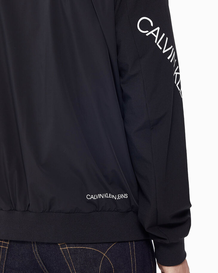 CALVIN KLEIN TWIST LOGO ZIP UP JACKET