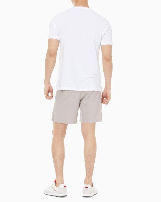 CALVIN KLEIN 남성 모노그램 트레이팅 반팔 티셔츠