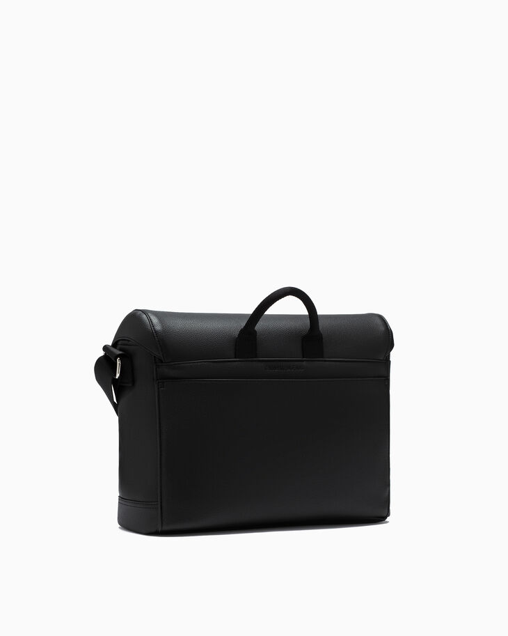 CALVIN KLEIN MICRO PEBBLE MESSENGER BAG