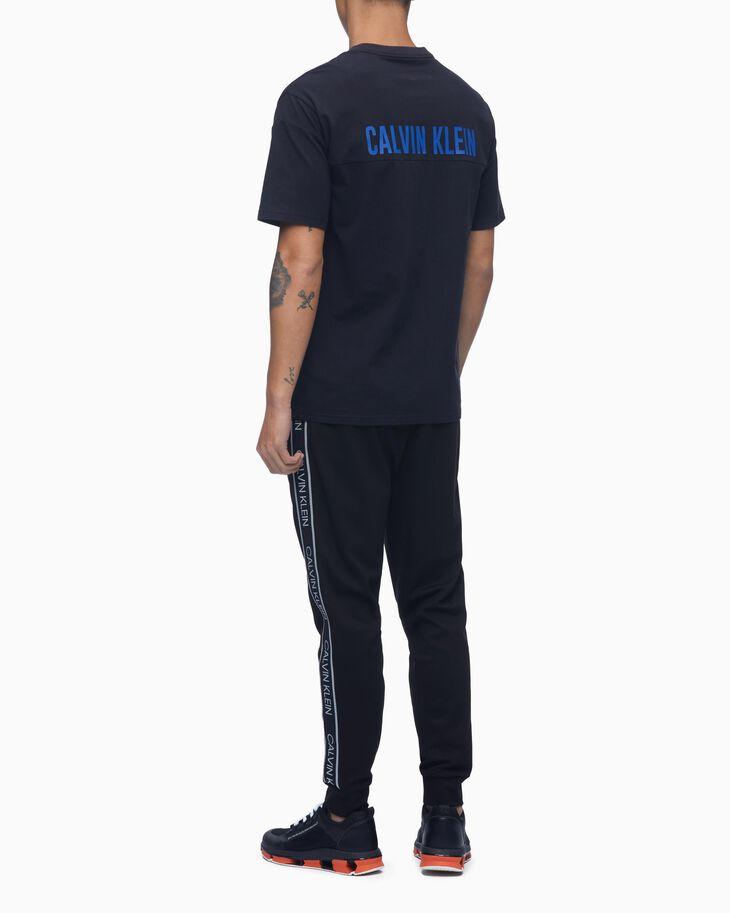 CALVIN KLEIN ACTIVE ICON LOGO BAND SWEAT PANTS
