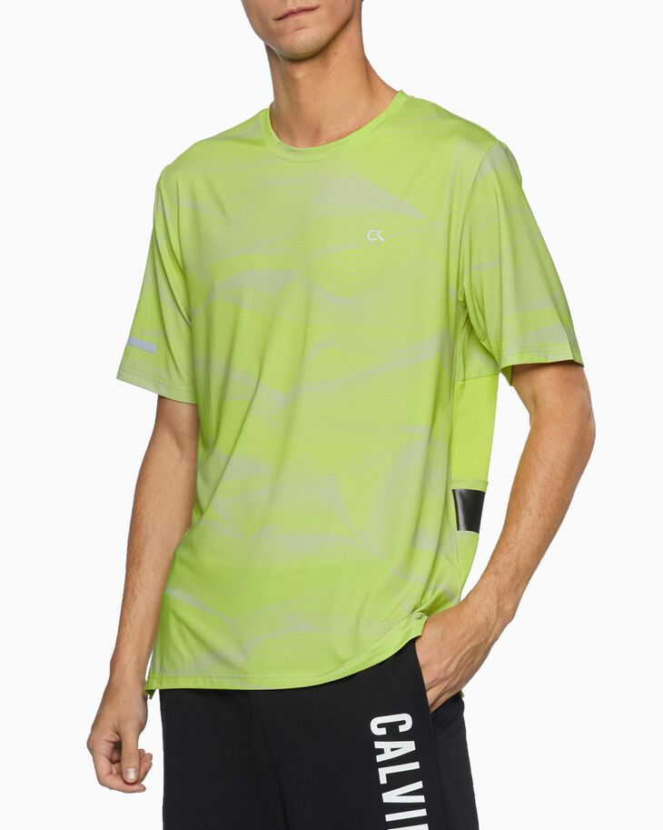 CALVIN KLEIN DIGITAL MOTION MESH BACK TEE