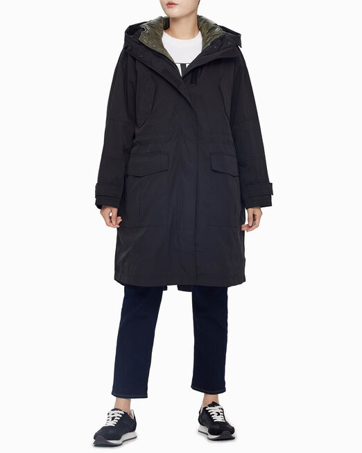 CALVIN KLEIN 2-IN-1 PARKA JACKET WITH VEST