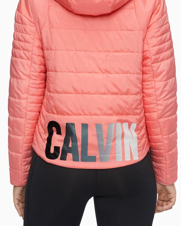 CALVIN KLEIN GRADIENT LOGO 鋪棉外套