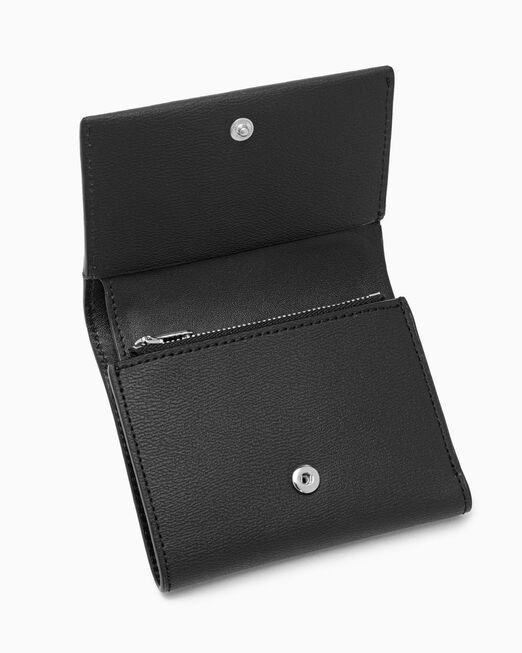 CALVIN KLEIN 여성 CKJ 모노하드웨어 지갑