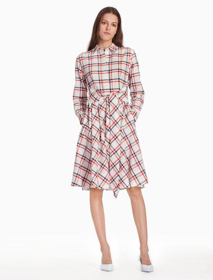 CALVIN KLEIN CHECK シャツドレス