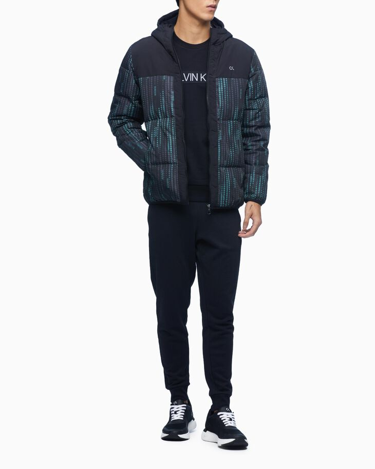 CALVIN KLEIN GRADIENT MOTION DOWN JACKET