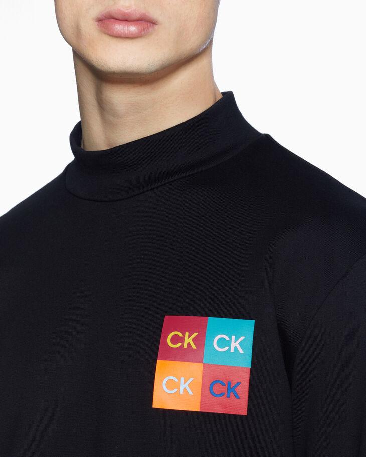 CALVIN KLEIN POP LOGO BOX 法國棉上衣