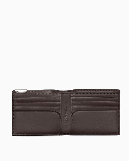 CALVIN KLEIN 남성 마이크로 페블 지갑