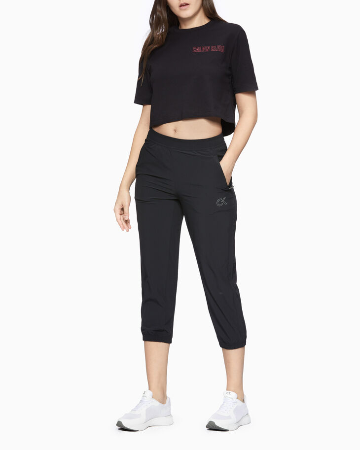 CALVIN KLEIN UTILITY STRONG CROPPED PANTS