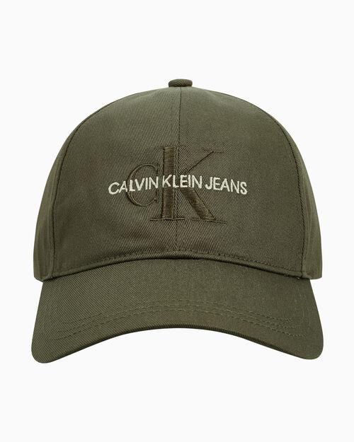 CALVIN KLEIN 남녀 공용 CKJ 모노그램 소프트 악세서리 캡모자