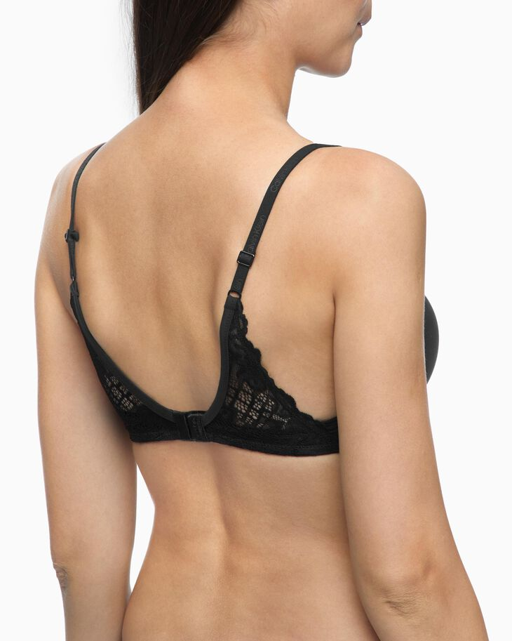 CALVIN KLEIN PERFECTLY FIT CHEETAH PUSH POSITIVE BRA