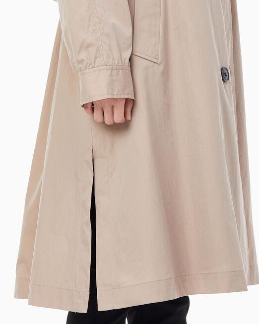 CALVIN KLEIN 여성 A 라인 트렌치 코트