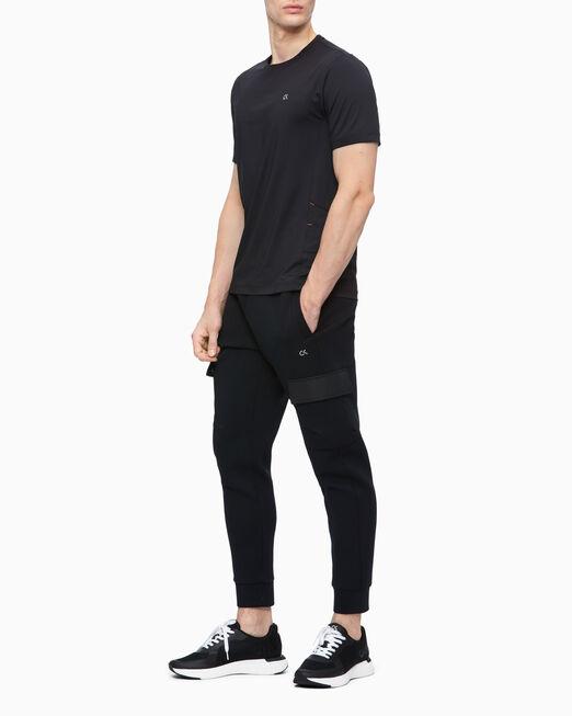 CALVIN KLEIN 남성 레귤러 핏 쿨 코어 반팔 티셔츠