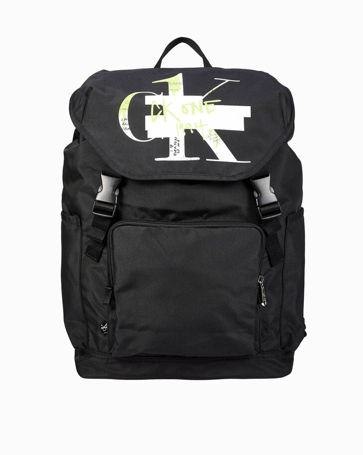 CALVIN KLEIN CK ONE TOP FLAP BACKPACK