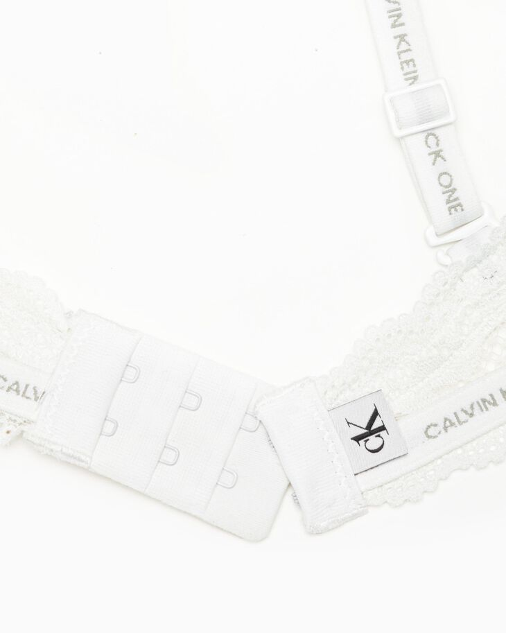 CALVIN KLEIN CK ONE LACE LIGHTLY LINED デミブラ