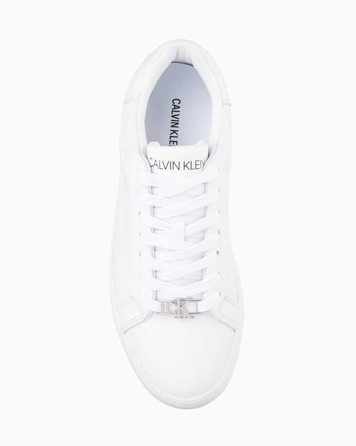 CALVIN KLEIN CUPSOLE LACE UP SNEAKERS