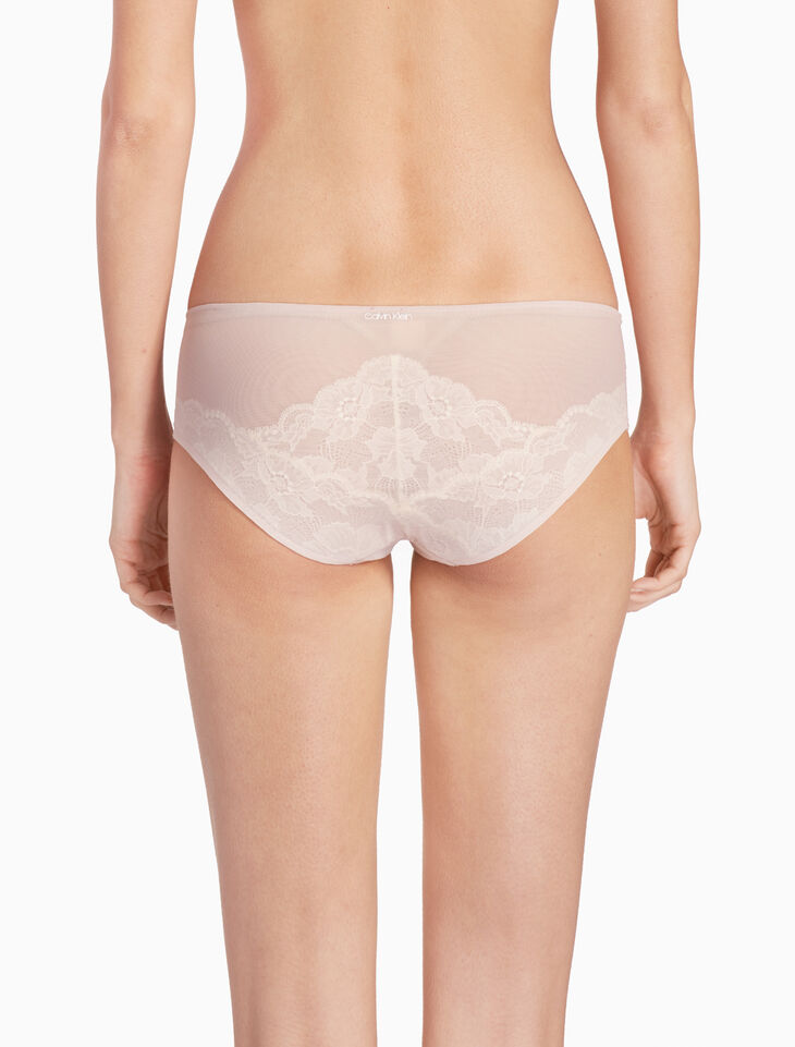 CALVIN KLEIN PRESSED LACE HIPSTER