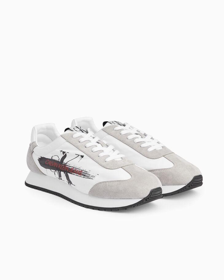 CALVIN KLEIN MONOGRAM PAINT STROKE 運動鞋