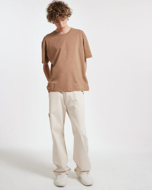 CALVIN KLEIN 남성 프로젝트 오렌지 3PK 반팔 티셔츠 (블랙, 브라운, 그레이)