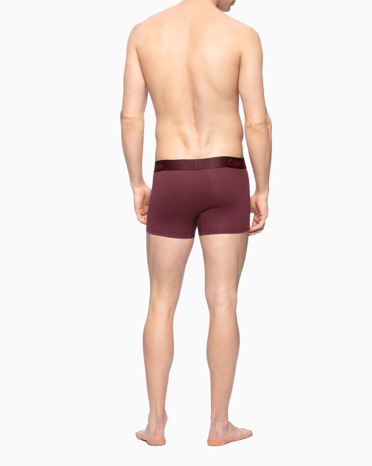 CALVIN KLEIN CK BLACK 黑色棉質貼身短版四角褲