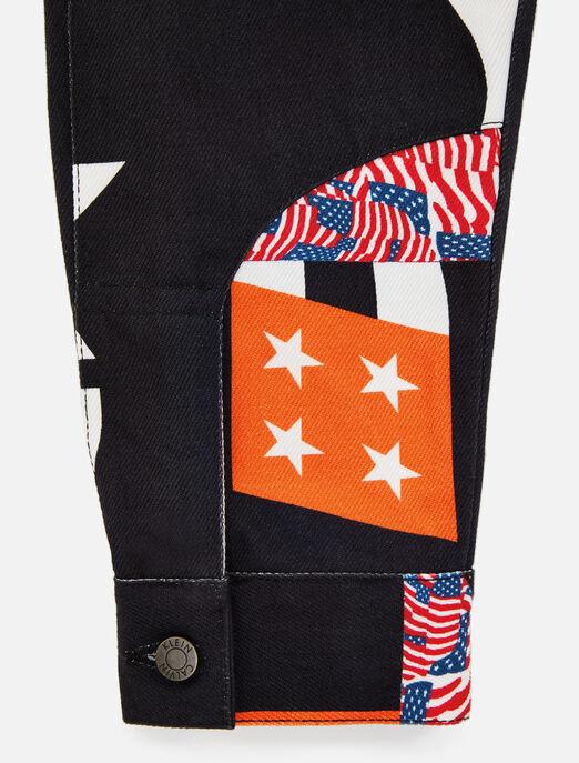 CALVIN KLEIN EST 1978 데님 트럭커 재킷