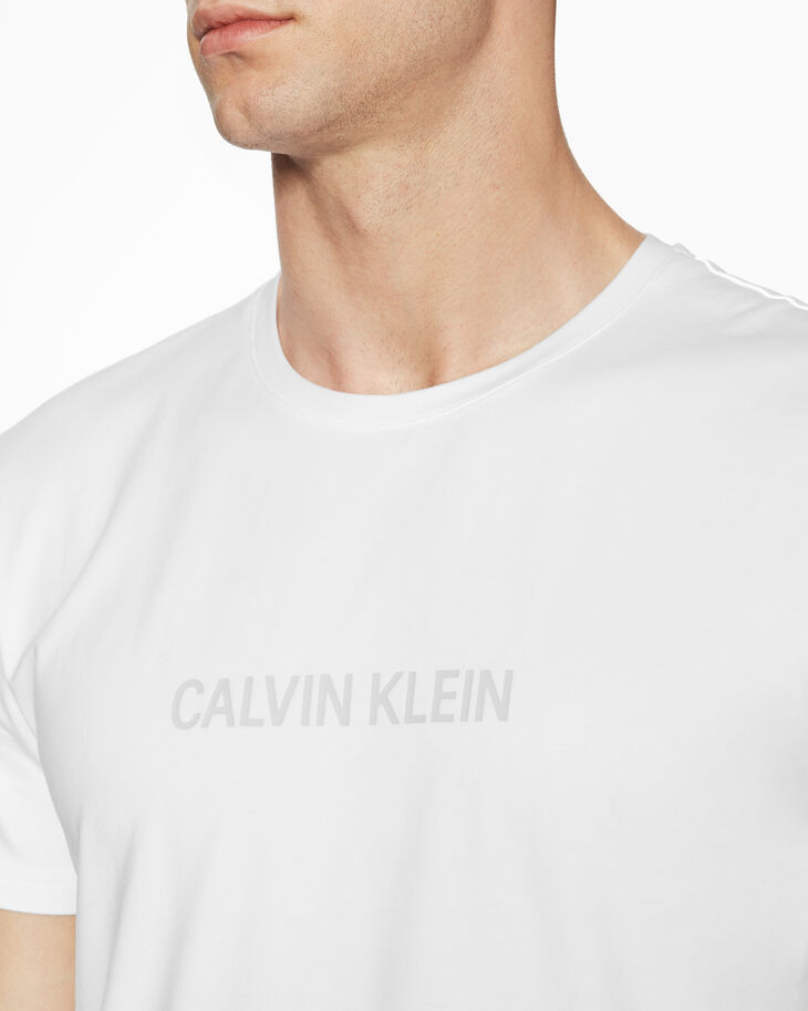 CALVIN KLEIN INSTITUTIONAL GLOSSY LOGO TEE