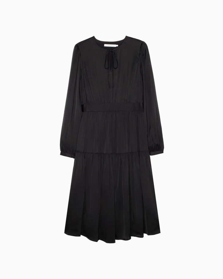 CALVIN KLEIN FEMININE LONG SLEEVE DRESS