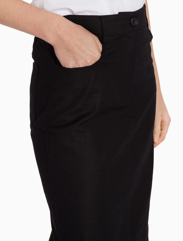 CALVIN KLEIN RIGID CORD デニムスカート