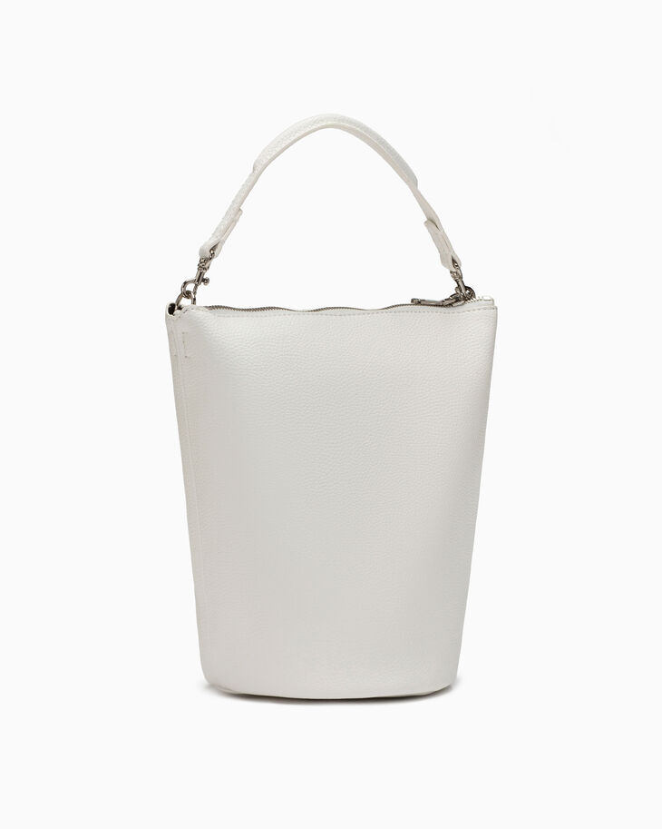 CALVIN KLEIN ULTRA LIGHT ZIP BUCKET BAG