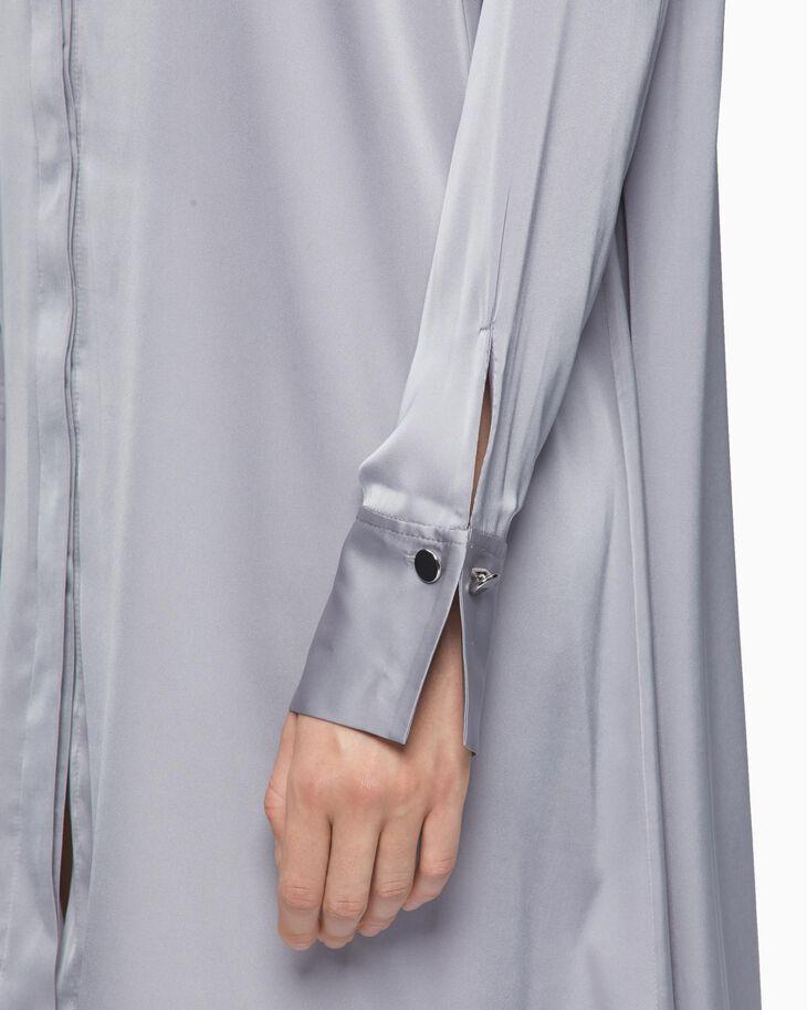 CALVIN KLEIN SHINY 襯衫長裙