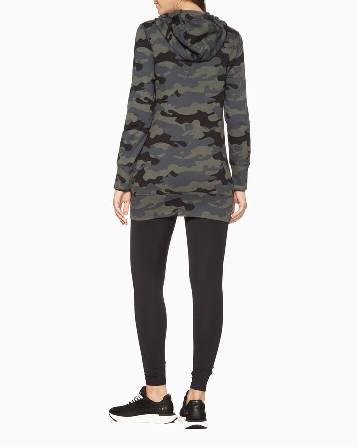 CALVIN KLEIN CAMO STORY HOODED JACKET