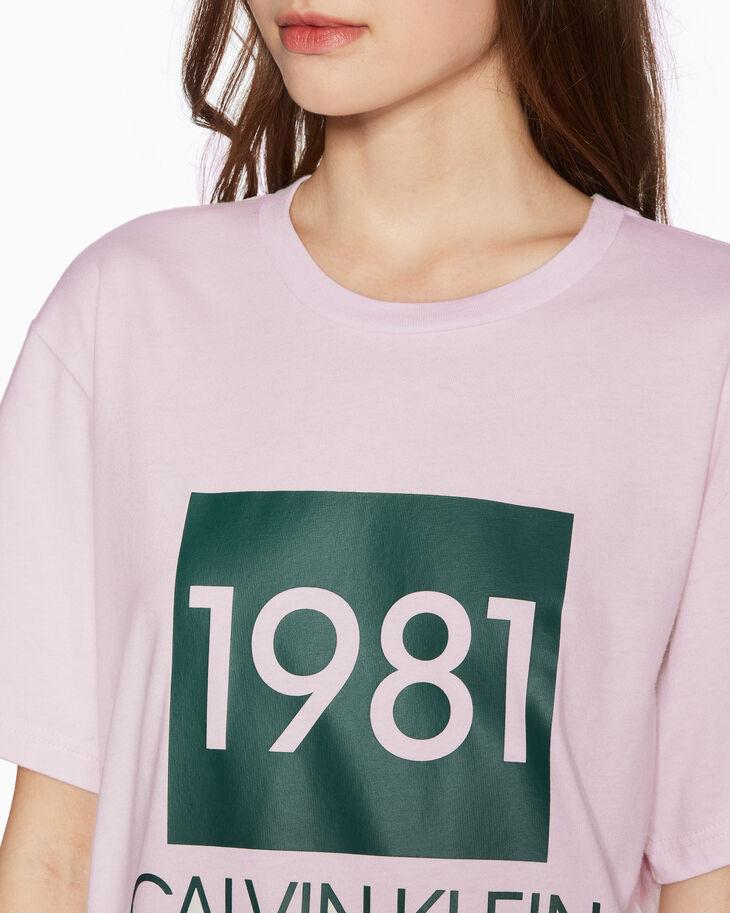 CALVIN KLEIN CK1981 BOLD LOUNGE クルーネック T シャツ