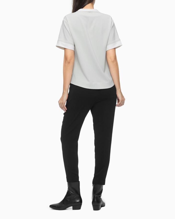 CALVIN KLEIN TAPERED PULL ON PANTS