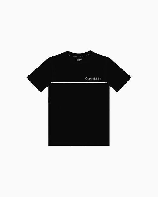 CALVIN KLEIN 남아용 COTTON 티셔츠 2팩