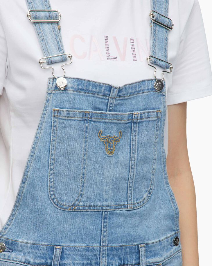 CALVIN KLEIN CHINESE NEW YEAR CAPSULE OVERALL DRESS