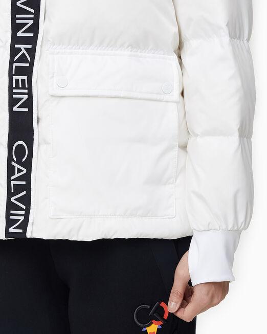 CALVIN KLEIN 여성 에이아이 레귤러 렝스 다운 자켓