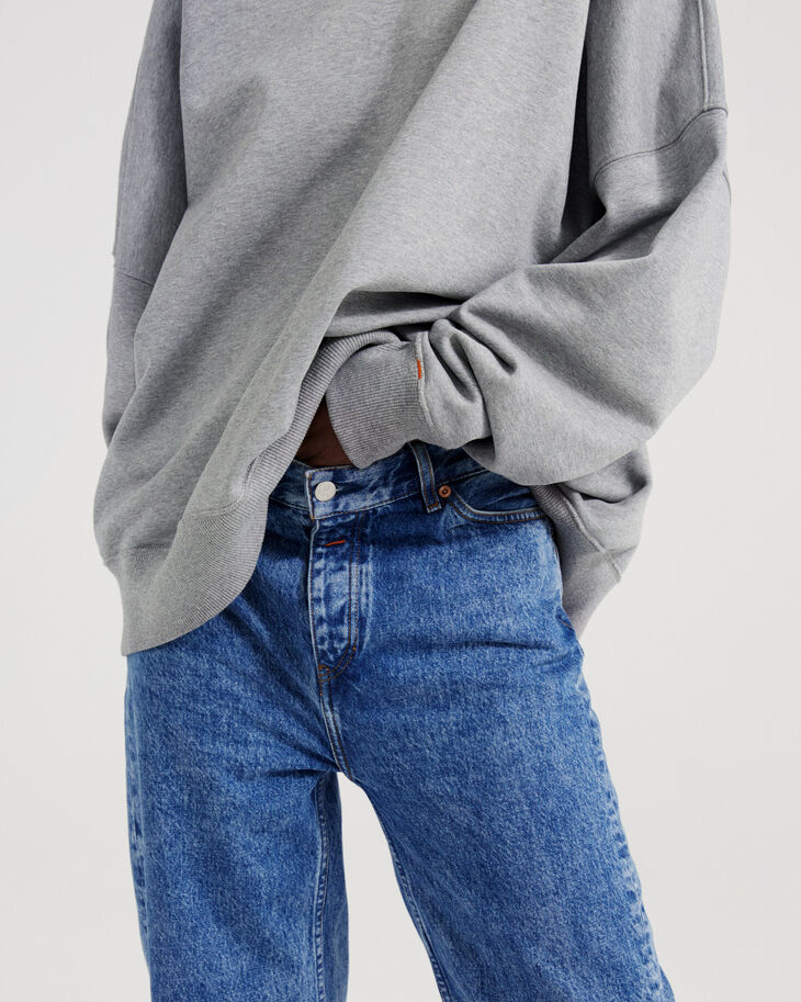 CALVIN KLEIN ORGANIC COTTON HEAVYWEIGHT SWEATSHIRT