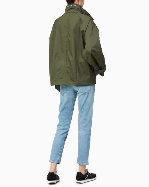 CALVIN KLEIN 여성 릴렉스 핏 유틸리티 재킷