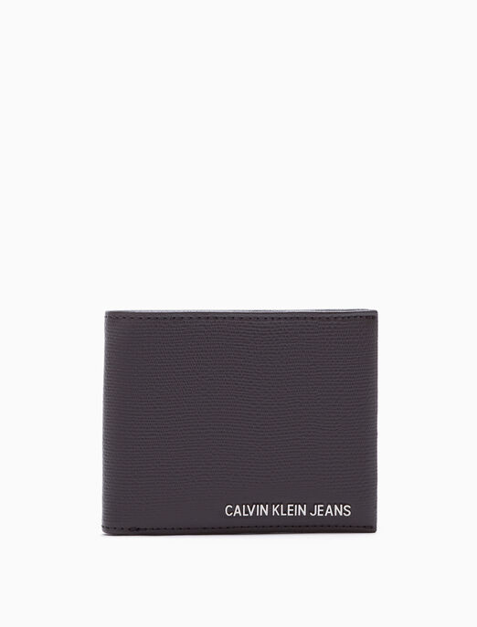 CALVIN KLEIN BILLFOLD WALLET WITH COIN POCKET