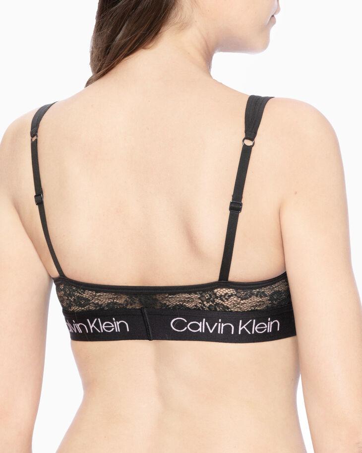 CALVIN KLEIN バレンタインデーカプセル裏なしレースブラレット