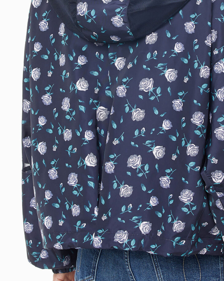CALVIN KLEIN FLOWER PRINT ZIP UP JACKET