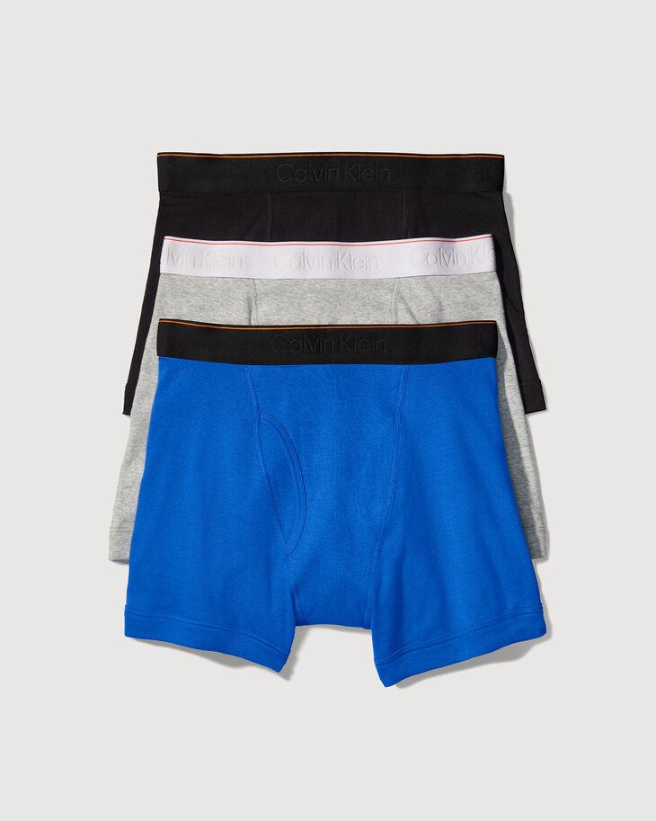 CALVIN KLEIN ORGANIC COTTON 貼身四角褲(3 件入)
