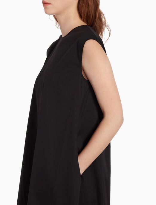 CALVIN KLEIN 소피 트윌 민소매 드레스