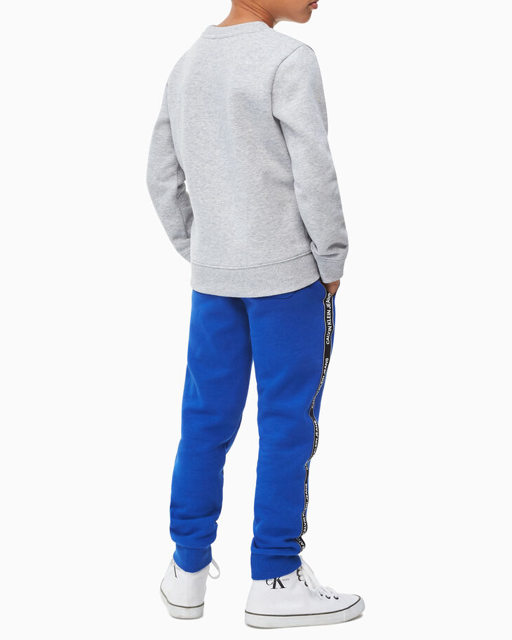 CALVIN KLEIN LOGO BOX ボーイズ用スウェットシャツ